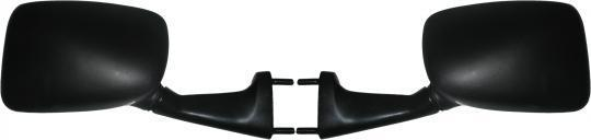 Picture of Mirrors Fairing Black Rectangle Left & Right 40mm Centre