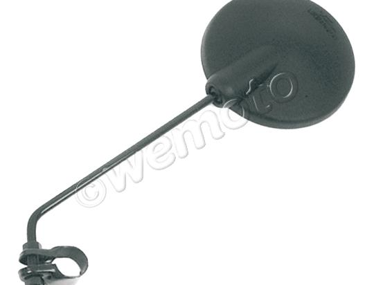 Picture of Mirror 8mm - Black Round - Clamp-on - Honda SH50 City Express