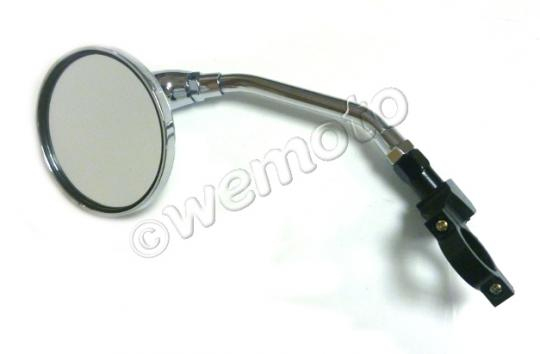 Picture of NKT 125 Grom Copy Mirror Left hand Round Chrome
