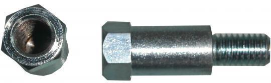 Picture of Adaptor Chrome 8mm Internal Thread to 8mm Left Hand External Thread