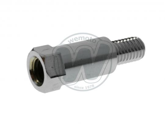 Picture of Adaptor Chrome 8mm RH Internal Thread to 8mm RH External Thread