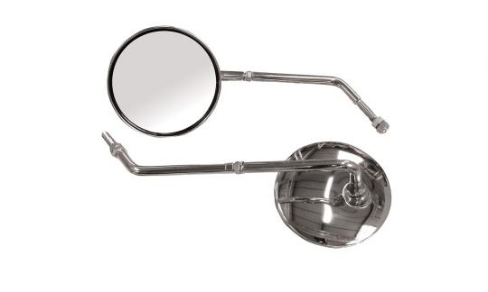 Picture of Mirror 8mm - Pair - Chrome Round