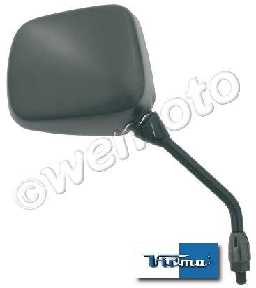 Picture of Mirror 10mm - Black Rectangle - Right Hand - Handlebar Mounting - Yamaha YPVS
