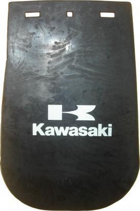 Picture of Mudflap Large Kawasaki 140mm x 265mm