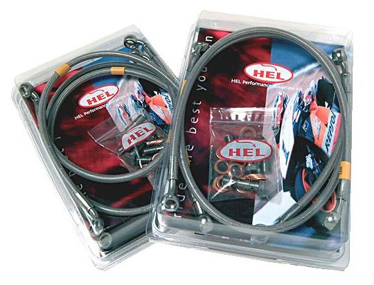 HEL Front Hydraulic Hose - Race Set-Up