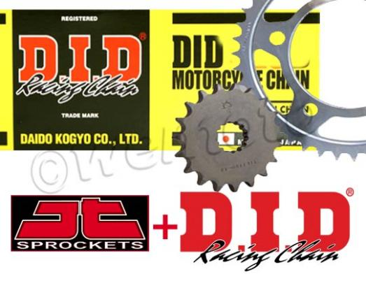 Picture of Daelim Roadwin 125 04-09 DID Chain and JT Sprocket Kit