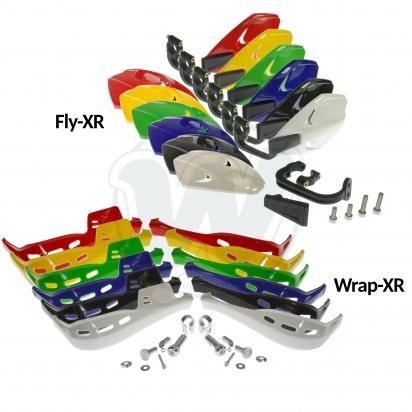 Picture of AJP PR4-Supermoto 200 04 Hand Guards XR Series