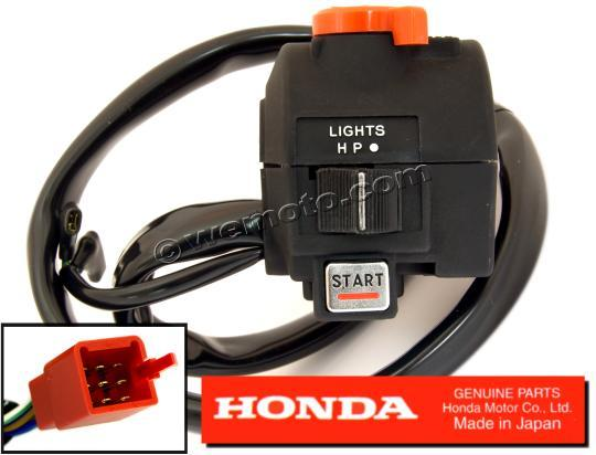Picture of Right Hand Switchgear Honda OEM 35150-MB1-306