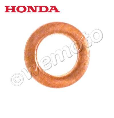 Picture of Fork Damper Retaining Bolt Copper Sealing Washer