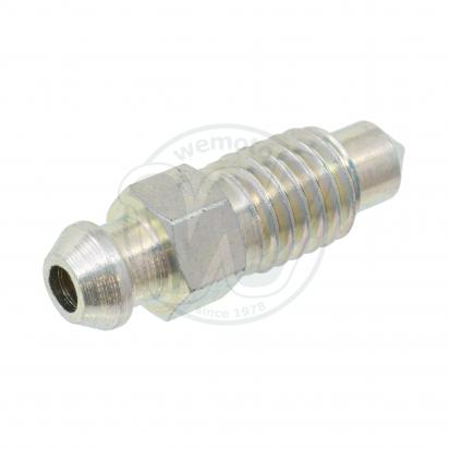 Picture of Honda CRF 250 R6 06 Bleed Nipple - Rear (Stainless Steel)