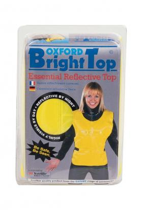 Picture of Hi Vis Top by Oxford Adjustable One Size Fits All - Be Safe, Be Seen!
