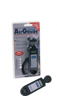 Picture of Air Pressure Gauge - Digital by Oxford - With 4 FREE Valve Caps