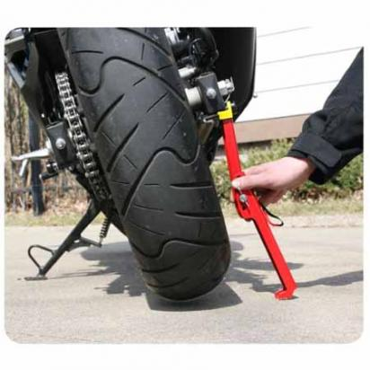 Picture of SnapJack  Portable Motorcycle Jack  - Red