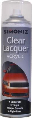Picture of Simoniz Lacquer Acrylic 500ml Aerosol