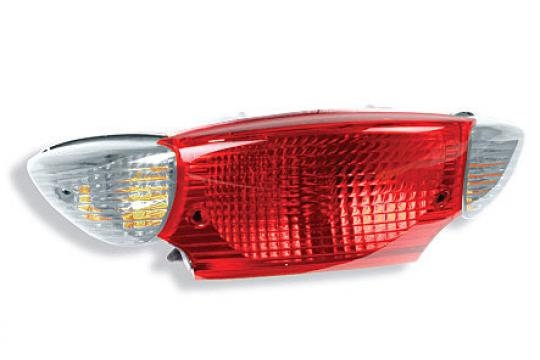 Picture of Taillight White/Clear Lens Unit