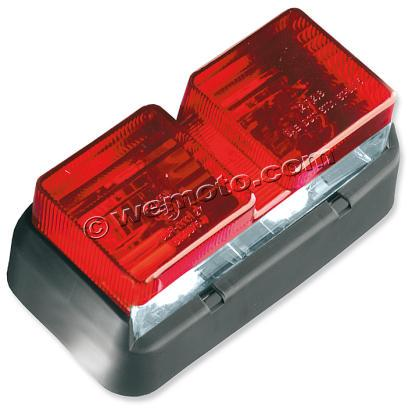 Picture of Taillight Complete Honda VTR 1000 SP Red Lens