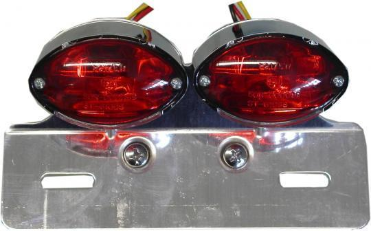 Picture of Taillight Complete Twin Mini Cateye Lenses