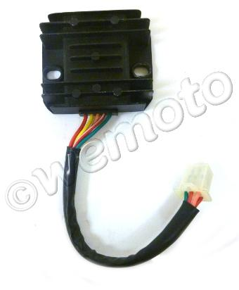 Picture of OEM Regulator Rectifier NKT 125 Grom Copy