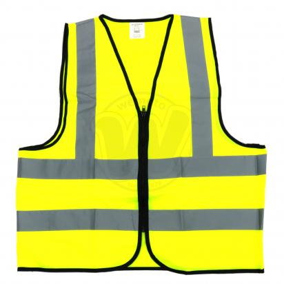 Picture of Hi Vis Vest With Zip Fastening - XL - Be Safe Be Seen