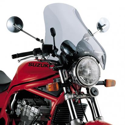 Givi A34 Universal Screen with 4 Point Handlebar, Requires D45 Fitting Kit