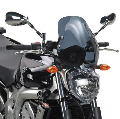 Givi 140D Yamaha FZ6N Screen 04-06 Smoked Colour