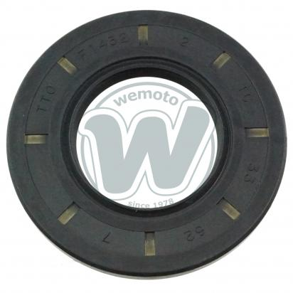 Wheel - Rear - Oil Seal - Left