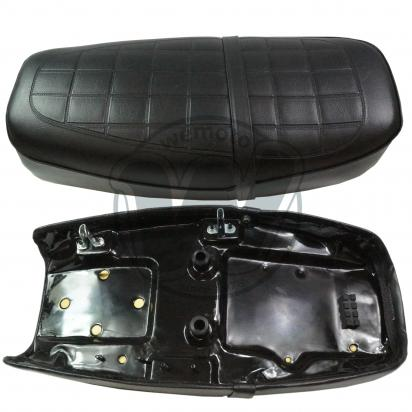 Picture of Complete Seat Honda CB350K as 77200-344-670-A And 77200-455-670-A