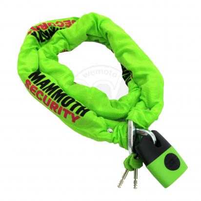 Picture of Mammoth Thatcham Square Chain and Lock 12mm x 1.8m
