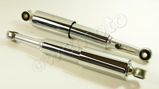 Picture of Pattern Rear Shock Absorbers Pair 335mm Pin-Pin Covered C50/70/90