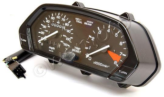Picture of Clock Set Honda NX650 MPH OEM No 37100-MAN-601