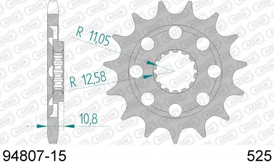 Picture of Sprocket Front - Afam