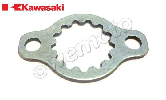 Picture of Front Sprocket Retaining Plate - Kawasaki - 13270-10600