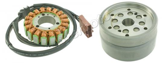 Picture of Generator - Stator And Rotor Set