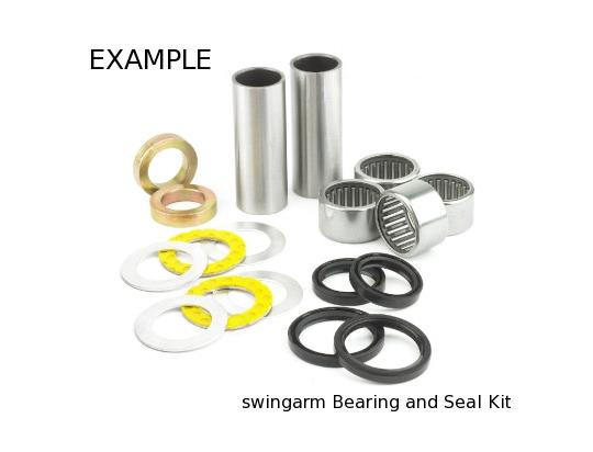 Picture of Kawasaki KX 125 L4 02 Swinging Arm Pivot Bearing Kit