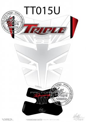 Picture of Tank Pad Triumph Style Speed Triple Special Edition Motografix, Approx. Size H=24cm/W=17cm