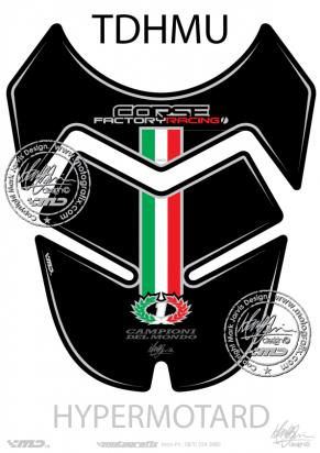 Picture of Tank Pad Ducati Hypermotard Tankpad, Approx. Size H=23cm/W=19cm