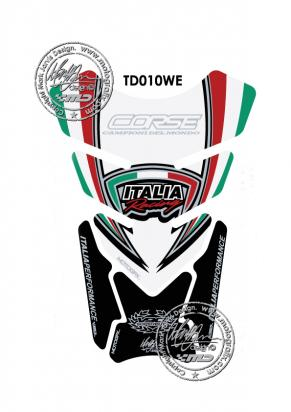 Picture of Tank Pad Ducati Stlye 748 916 996 998 Motografix, Approx. Size H=21cm/W=15cm