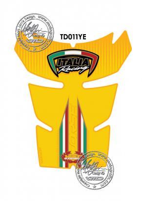 Picture of Tank Pad Ducati Style 848 1098 1198 Motografix, Approx. Size H=20cm/W=17cm