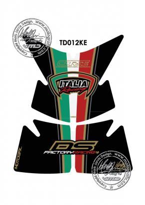 Picture of Tank Pad Ducati Style Multistrada 1100 620 1000 Motografix, Approx. Size H=20cm/W=17cm