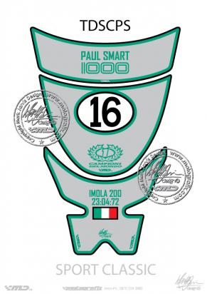Picture of Tank Pad Ducati Sport Classic 1000s, Approx. Size H=26cm/W=17cm