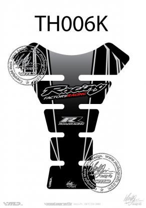 Picture of Tank Pad Honda Style CBR RR FS 600 900 Motografix, Approx. Size H=22cm/W=17cm
