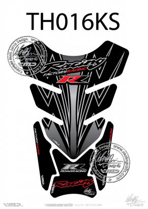 Picture of Tank Pad Honda Style CBR 600 1000 RR Motografix, Approx. Size H=21cm/W=15cm