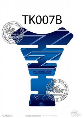 Picture of Tank Pad Kawasaki Style Z Series Z750 Z1000 Motografix, Approx. Size H=22cm/W=17cm