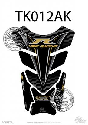 Picture of Tank Pad Kawasaki Style ZXR ZX6R ZX10R Motografix, Approx. Size H=21cm/W=15cm