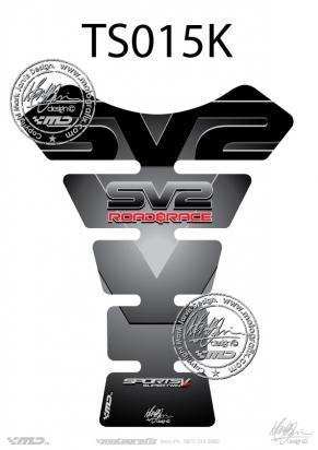 Picture of Tank Pad Suzuki Style SV650 SV1000 SV Motografix, Approx. Size H=22cm/W=17cm