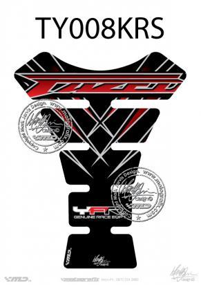 Picture of Tank Pad Yamaha Style Fazer 600 1000 FZS Motografix, Approx. Size H=22cm/W=17cm