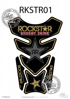 Picture of Tank Pad Official Rockstar Energy Drink  Approx. Size H=21cm/L=15cm