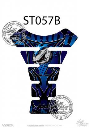 Picture of Tank Pad Streetfighter BANDIT BLACK/BLUE H=22cm/W=17cm
