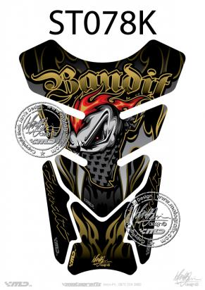 Picture of Tank Pad Streetfighter Bandit Black H=21cm/W=15cm