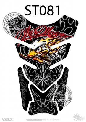 Picture of Tank Pad Streetfighter MR. MEANER STREET DESIGN, H=21cm/W=15cm
